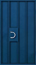 дверь железная однолистовая